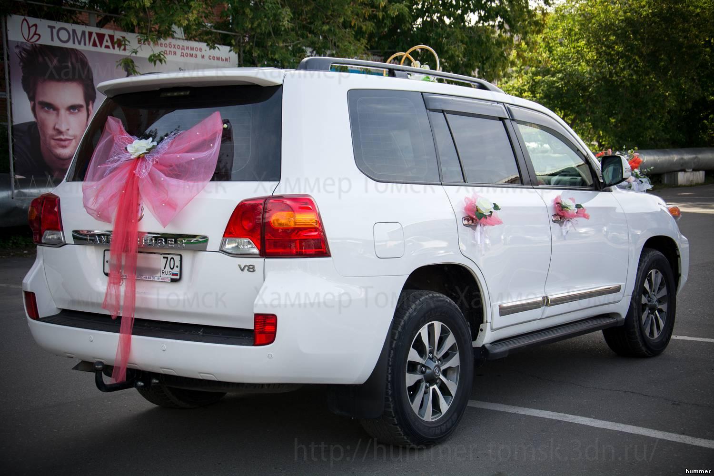 Как украсить тойоту на свадьбу