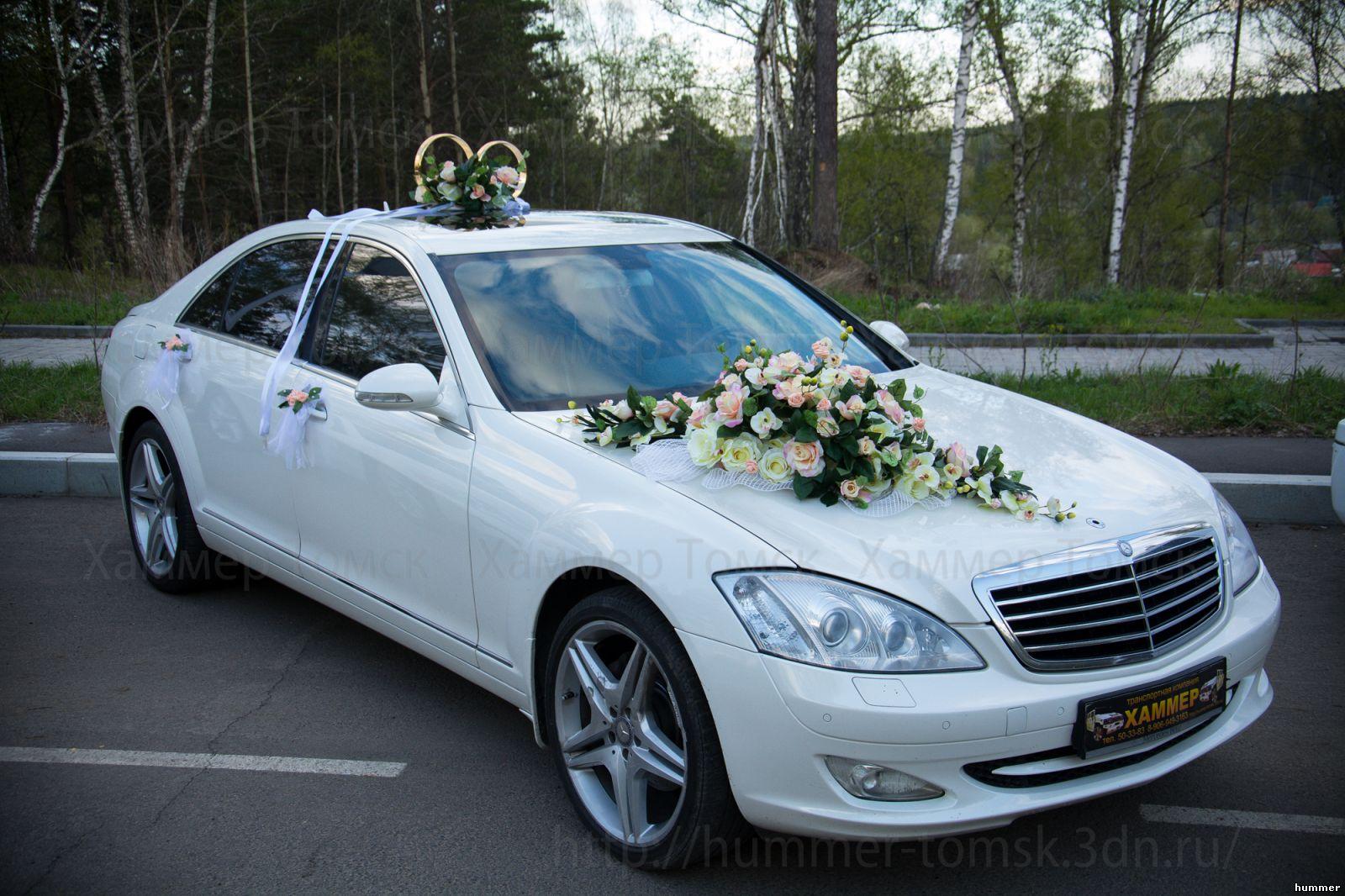 Фото украшенных автомобилей на свадьбу