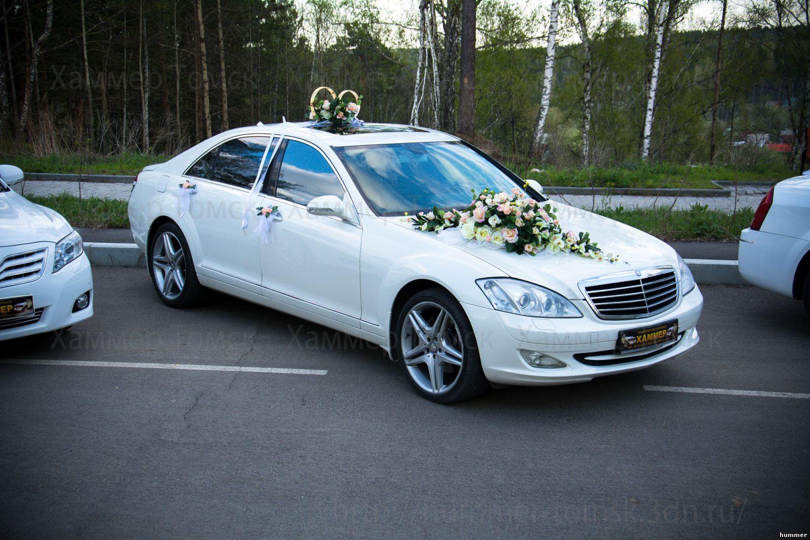 Мерседес на свадьбу фото
