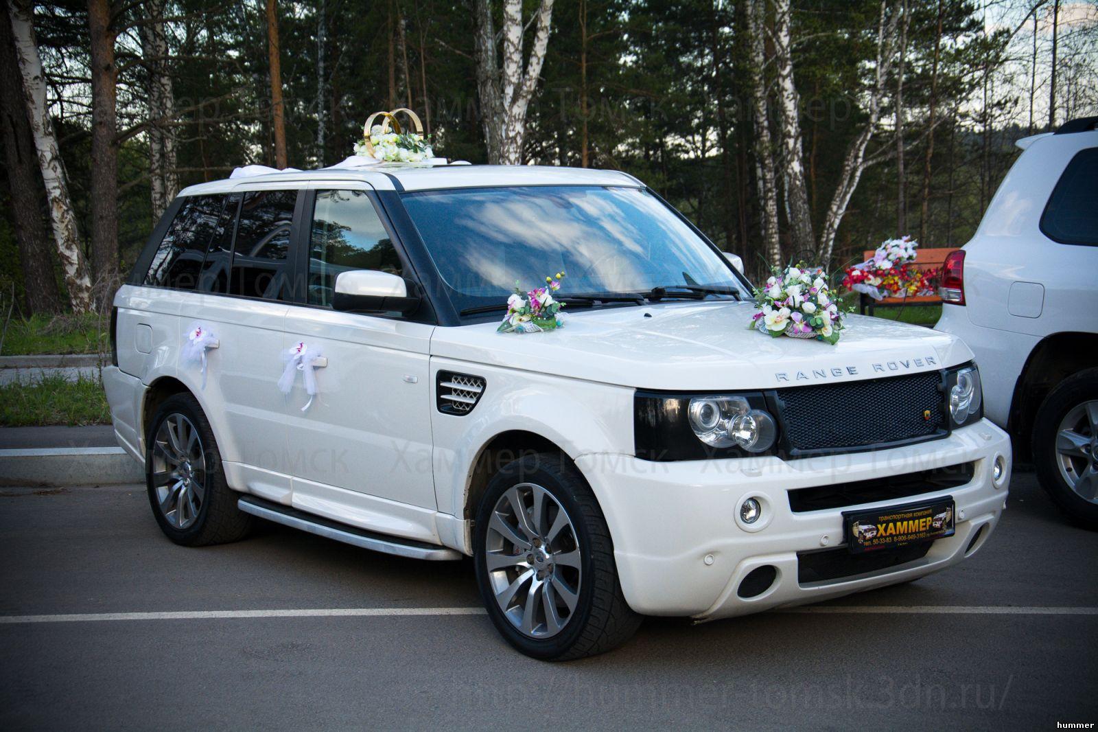 украшение на свадебную машину в томске