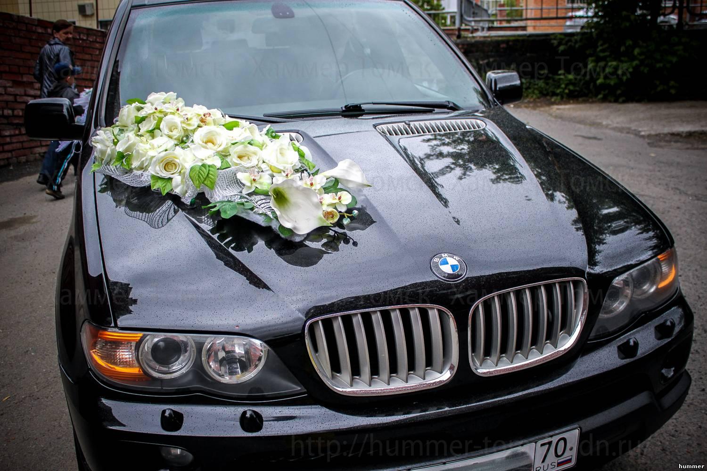 Бмв х5 с цветами