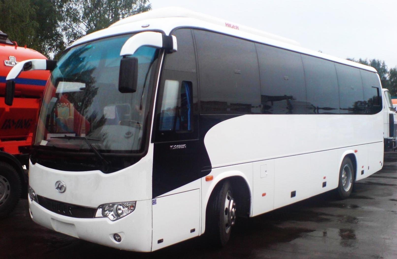Аренда автобуса Томск - Хайгер